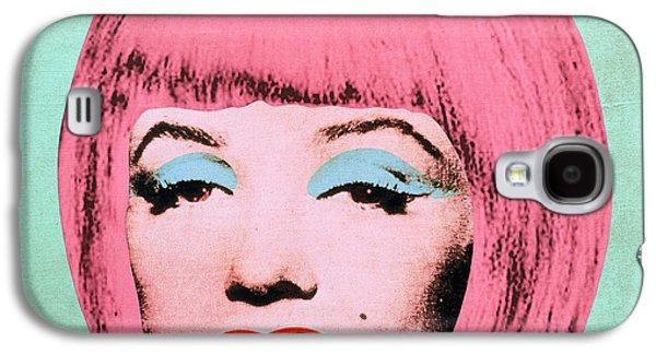 Hairstyle Digital Galaxy S4 Cases - Bob Marilyn  Variant 2 Galaxy S4 Case by Filippo B