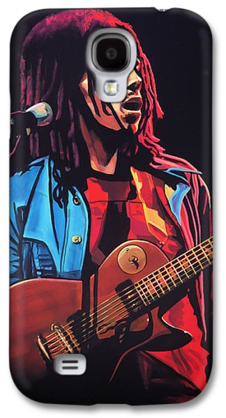 Bob Marley Tuff Gong Galaxy S4 Case by Paul Meijering