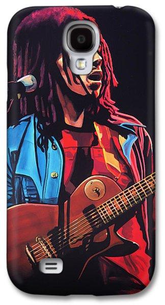 Bob Marley Tuff Gong Galaxy S4 Case by Paul Meijering