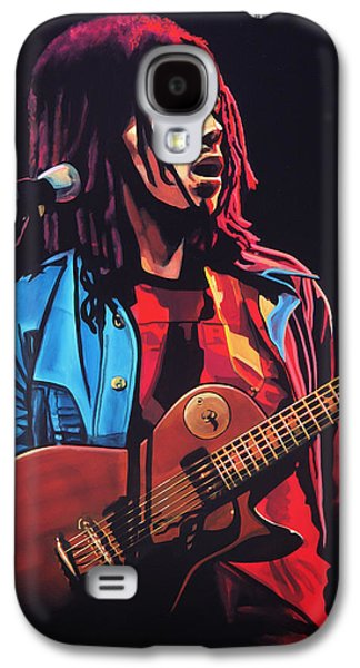 Crying Galaxy S4 Cases - Bob Marley 2 Galaxy S4 Case by Paul  Meijering