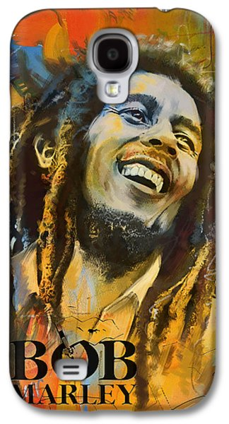 Crying Galaxy S4 Cases - Bob Marley Galaxy S4 Case by Corporate Art Task Force