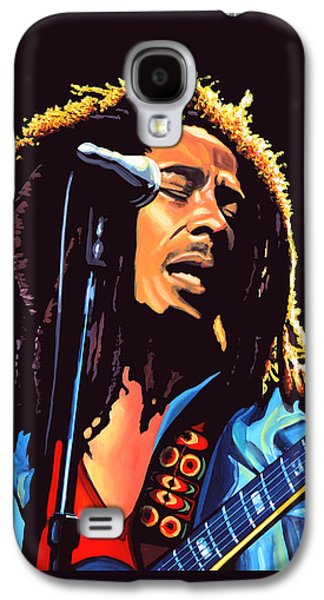 Activists Galaxy S4 Cases - Bob Marley Galaxy S4 Case by Paul Meijering