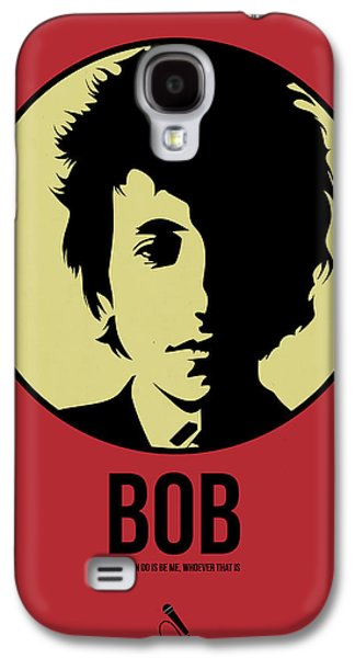 Singer Mixed Media Galaxy S4 Cases - Bob Poster 1 Galaxy S4 Case by Naxart Studio