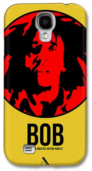 Jamaican Galaxy S4 Cases - Bob Poster 4 Galaxy S4 Case by Naxart Studio