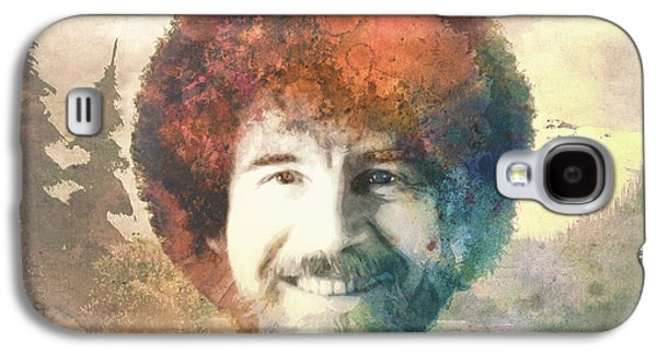 Person Galaxy S4 Cases - Bob Ross Galaxy S4 Case by Filippo B