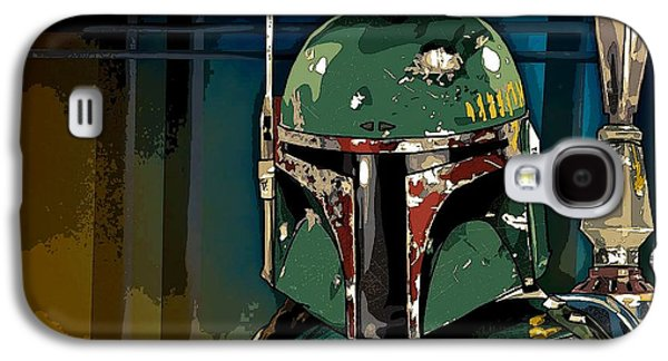 Boba Fett 2 Galaxy S4 Case by George Pedro
