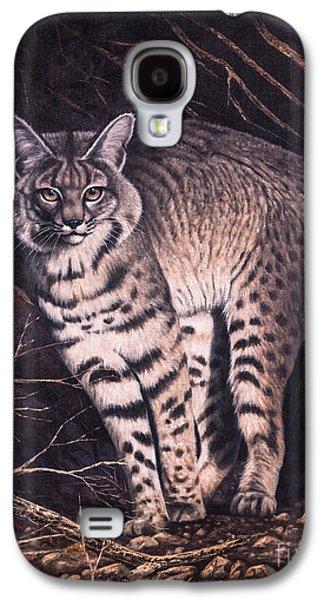 Bobcats Galaxy S4 Cases - Bobcat Galaxy S4 Case by Ricardo Chavez-Mendez