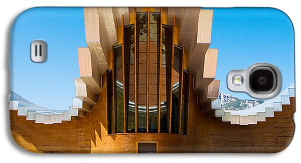 Winery Photography Galaxy S4 Cases - Bodegas Ysios Winery Building, La Galaxy S4 Case by Panoramic Images