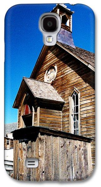 Mining Photos Galaxy S4 Cases - Bodie Methodist Church Galaxy S4 Case by Barbara Snyder