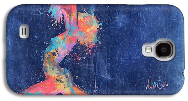 Forms Digital Art Galaxy S4 Cases - Bodyscape in D Minor - Music of the Body Galaxy S4 Case by Nikki Marie Smith