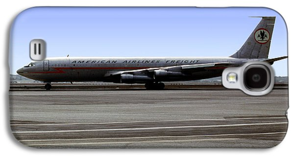 Boeing 707 American Airlines Freight Aal Galaxy S4 Case by Wernher Krutein