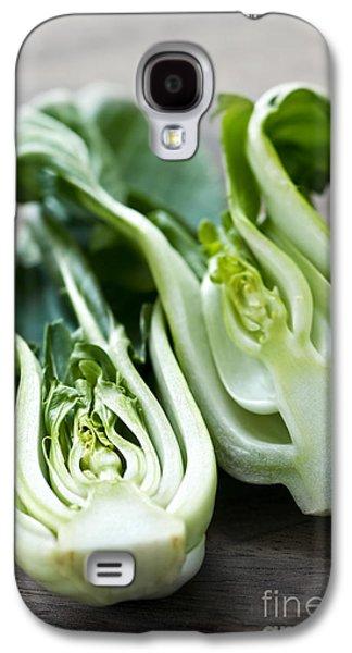 Cutting Galaxy S4 Cases - Bok choy Galaxy S4 Case by Elena Elisseeva