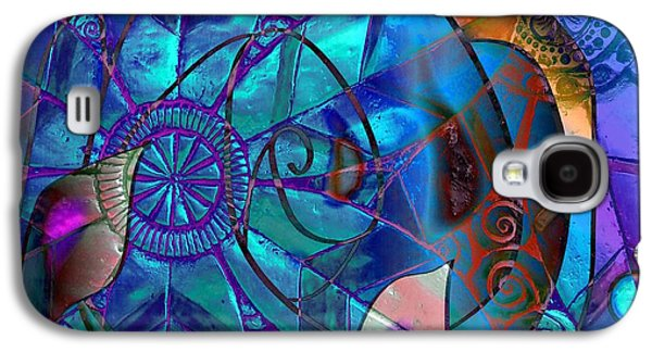 Abstracts Jewelry Galaxy S4 Cases - Bold 2 Galaxy S4 Case by Iris Gelbart