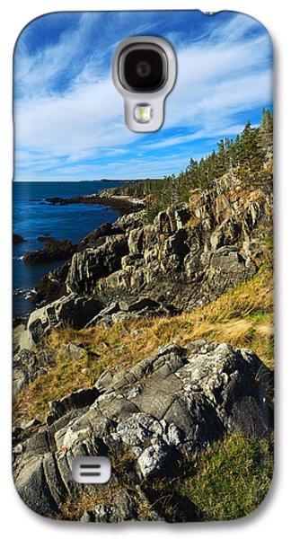 Coastal Maine Galaxy S4 Cases - Bold Coast 3 Galaxy S4 Case by Bill Caldwell -        ABeautifulSky Photography