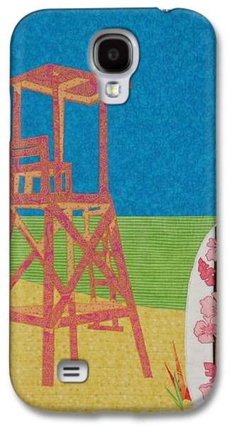 Chair Tapestries - Textiles Galaxy S4 Cases - Bold Viewpoint Galaxy S4 Case by Anita Jacques