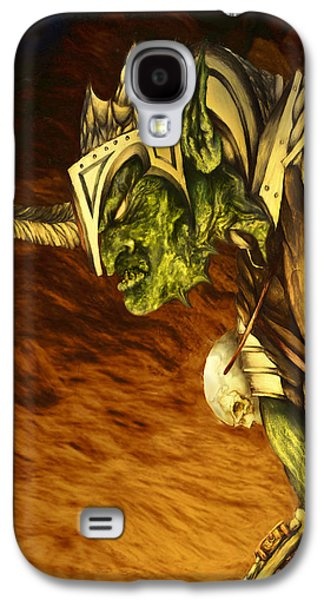 Bolg The Goblin King Galaxy S4 Case by Curtiss Shaffer