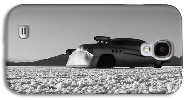 Dry Lake Galaxy S4 Cases - Bombshell Buick - Metal and Speed Galaxy S4 Case by Holly Martin
