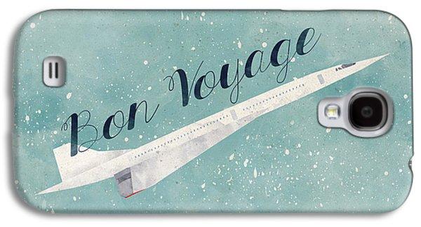 Bon Voyage Galaxy S4 Case by Randoms Print