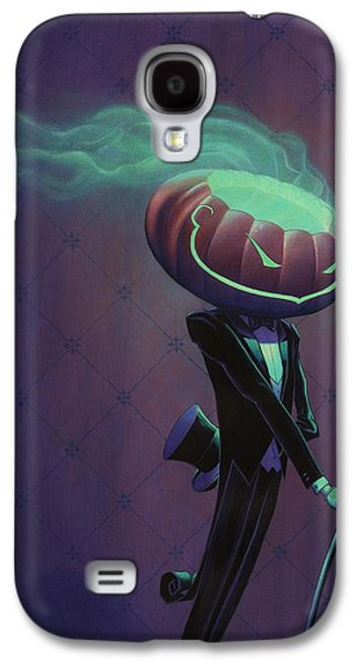 Recently Sold -  - Creepy Galaxy S4 Cases - Mister Jack Galaxy S4 Case by Richard Moore