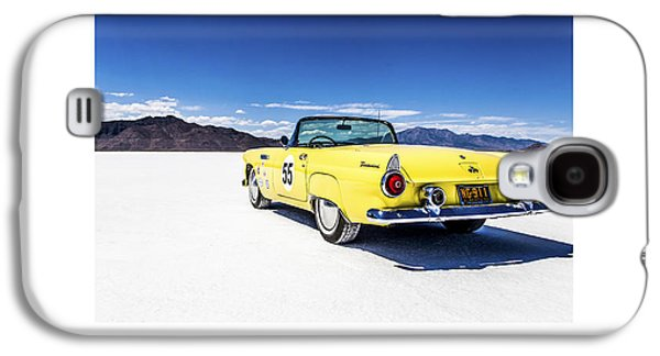 Antique Automobiles Galaxy S4 Cases - Bonneville T-bird Galaxy S4 Case by Holly Martin