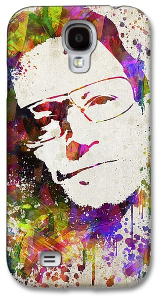 Bono In Color Galaxy S4 Case by Aged Pixel