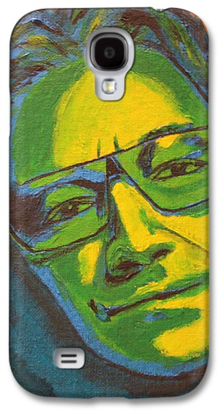 U2 Paintings Galaxy S4 Cases - Bono Galaxy S4 Case by John Hooser