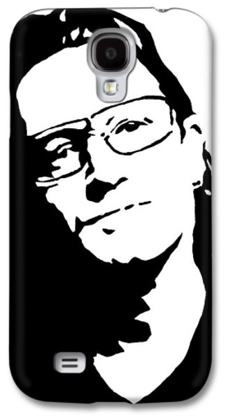 U2 Paintings Galaxy S4 Cases - Bono Galaxy S4 Case by Monofaces