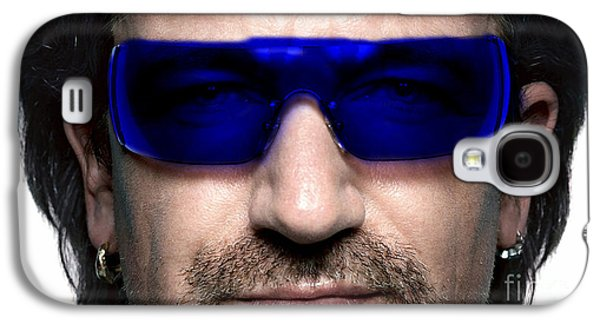 Bono Galaxy S4 Cases - Bono of U2 Galaxy S4 Case by Marvin Blaine