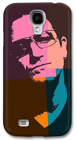 Bono Galaxy S4 Cases - Bono Pop Art Galaxy S4 Case by Dan Sproul
