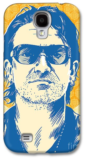 Bono Pop Art Galaxy S4 Case by Jim Zahniser