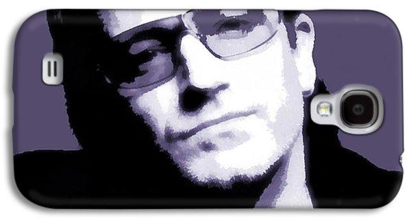 Bono Galaxy S4 Cases - Bono Portrait Galaxy S4 Case by Dan Sproul