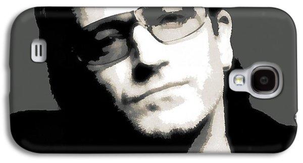 Bono Galaxy S4 Cases - Bono Poster Galaxy S4 Case by Dan Sproul