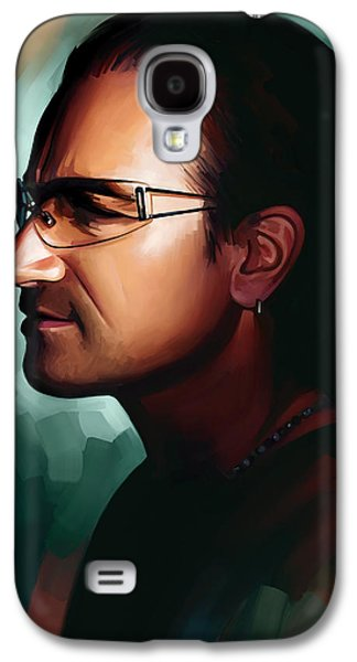 Bono U2 Artwork 1 Galaxy S4 Case by Sheraz A