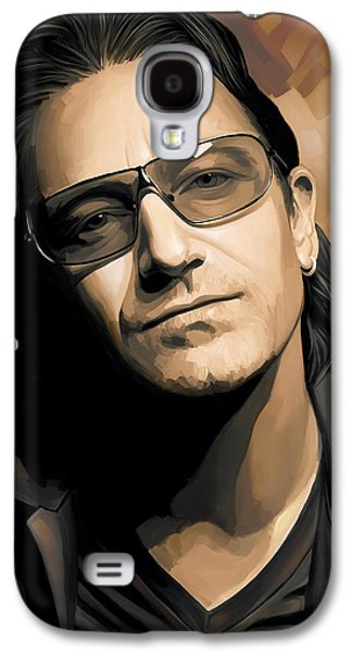 Bono U2 Artwork 2 Galaxy S4 Case by Sheraz A