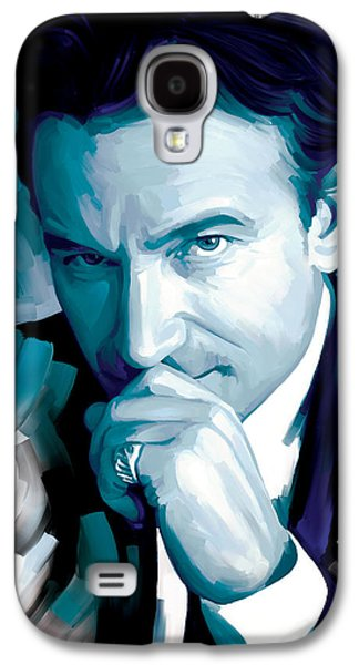 Bono U2 Artwork 4 Galaxy S4 Case by Sheraz A