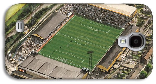 Art Mobile Galaxy S4 Cases - Boothferry Park - Hull City Galaxy S4 Case by Kevin Fletcher