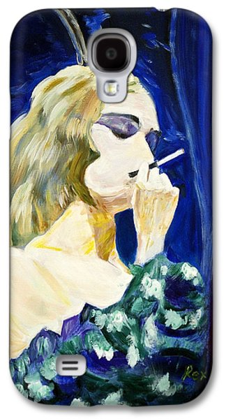 Prostitutes Paintings Galaxy S4 Cases - Bordello Blues Galaxy S4 Case by Rex Maurice Oppenheimer