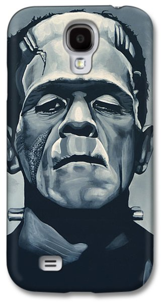 Boris Karloff As Frankenstein  Galaxy S4 Case by Paul Meijering