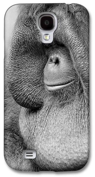 Bornean Orangutan V Galaxy S4 Case by Lourry Legarde