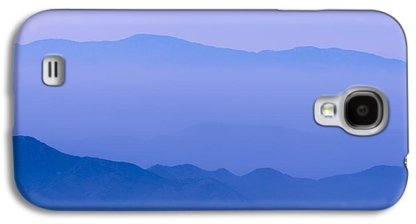 Abstract Landscape Photographs Galaxy S4 Cases - Borrego Blue Galaxy S4 Case by Joseph Smith