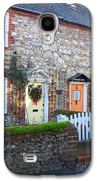 Ancient Galaxy S4 Cases - Bosham Cottages West Sussex Galaxy S4 Case by Terri  Waters
