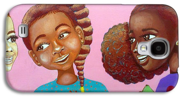 African-american Galaxy S4 Cases - BOSS Beauties Galaxy S4 Case by Dana Todd Pope