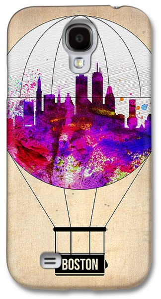Balloons Galaxy S4 Cases - Boston Air Balloon Galaxy S4 Case by Naxart Studio