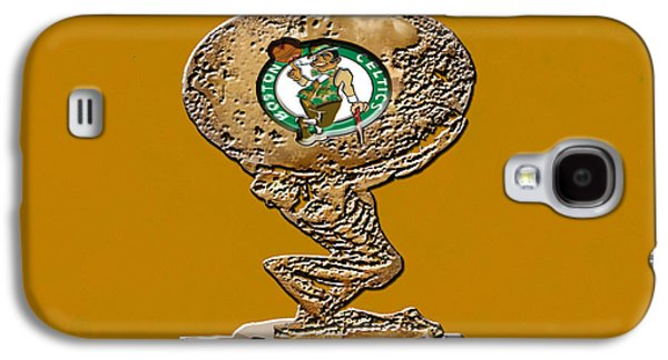 Larry Bird Galaxy S4 Cases - Boston Celtics Galaxy S4 Case by Brian Reaves