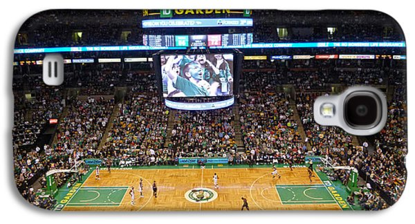 Sports Photographs Galaxy S4 Cases - Boston Celtics Galaxy S4 Case by Juergen Roth