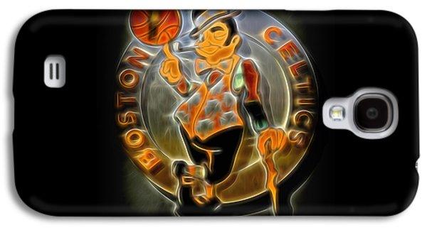 Boston Celtics Logo Galaxy S4 Case by Stephen Stookey