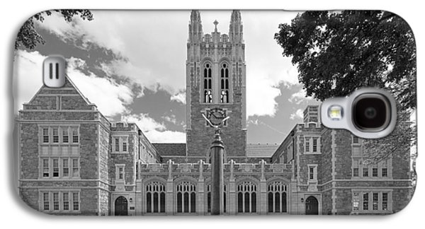 Collegiate Galaxy S4 Cases - Boston College Gasson Hall Galaxy S4 Case by University Icons