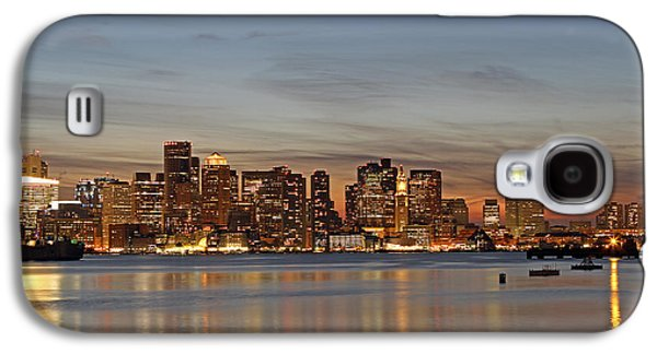 Home Improvement Galaxy S4 Cases - Boston Downtown Galaxy S4 Case by Juergen Roth