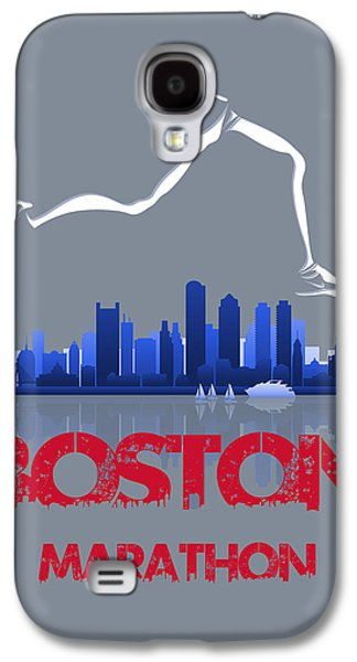 City. Boston Galaxy S4 Cases - Boston Marathon3 Galaxy S4 Case by Joe Hamilton