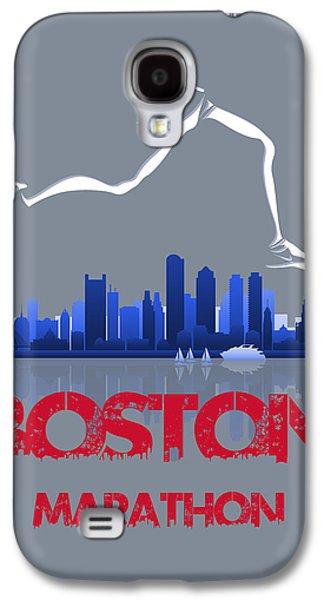 Boston Marathon3 Galaxy S4 Case by Joe Hamilton